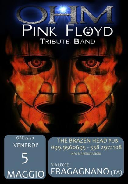 OHM PINK FLOYD live - Fragagnano (ta) - BRAZEN HEAD PUB