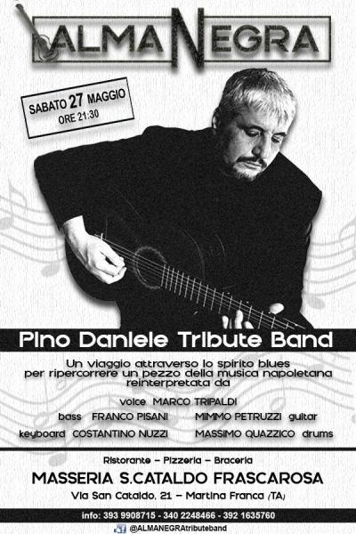 ALMANEGRA Pino Daniele Tribute Band