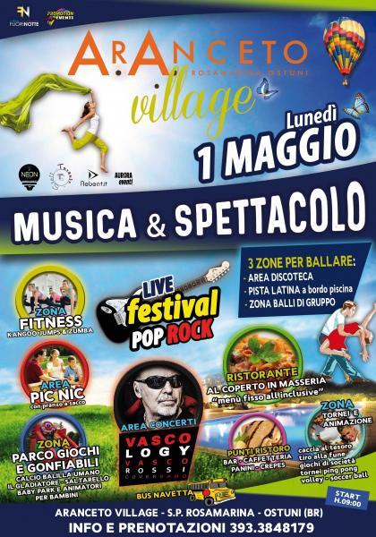 Aranceto Village - 1 Maggio a Ostuni - Musica e Spettacolo