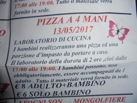 Pizza a 4 Mani