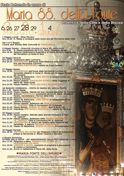 Festa Patronale: Maria S.S. della Fonte