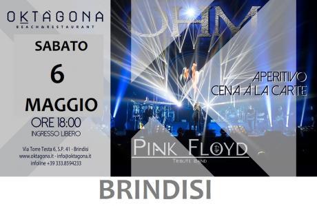 OHM PINK FLOYD - LIVE BRINDISI - OKTAGONA - Aperitivo in musica