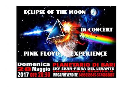 Pink Floyd Experience al Planetario Sky Skan...Eclipse Of The Moon In Concert
