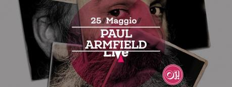 Paul Armfield live!