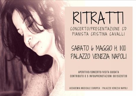 Ritratti - Cristina Cavalli in Concerto