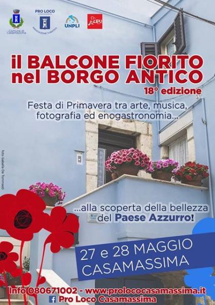 18° Balcone Fiorito nel Borgo Antico