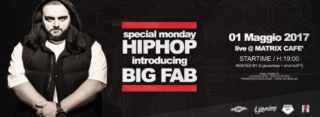 1° Maggio HIP HOP con Dj Big Fab al Matrix Cafè di Binetto