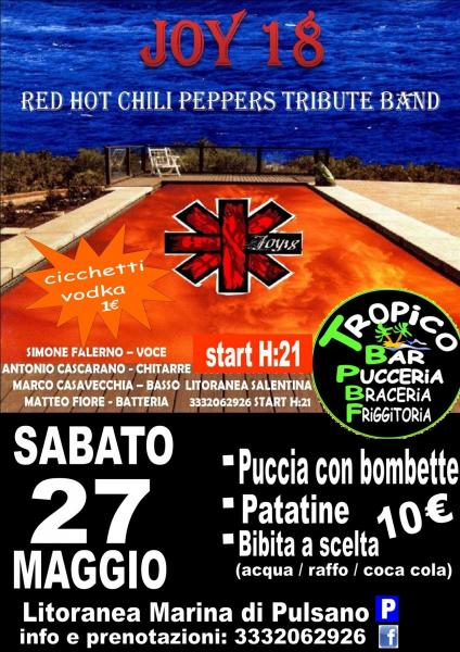 Red Hot Chili Peppers TRIBUTE BAND