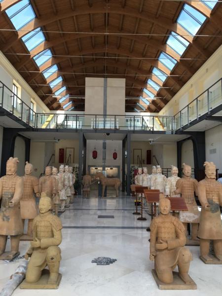 I Guerrieri di Terracotta del Grande Imperatore cinese QIN