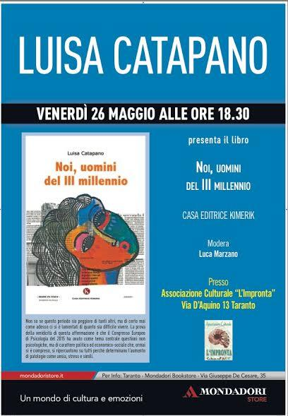 Incontro con l'autore Luisa Catapano