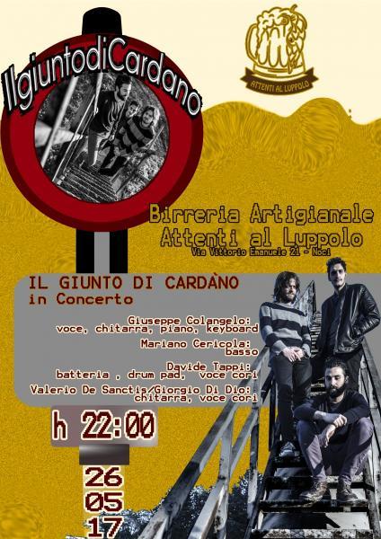 Il giunto di Cardàno - in Concerto