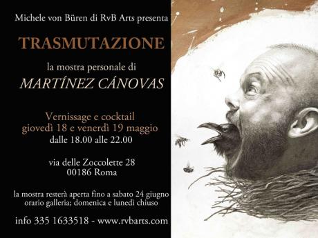 Trasmutazione - la Mostra Personale di  Martínez Cánovas