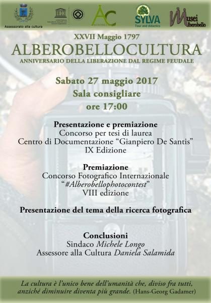 "Convegno ""Alberobellocultura"""