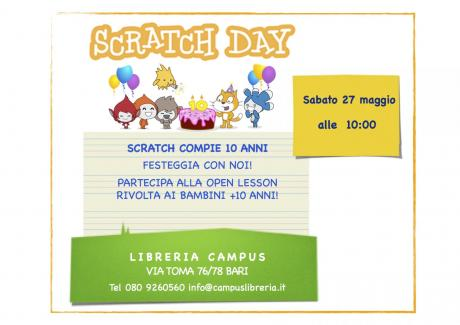 Open lesson Scratch per piccoli programmatori!