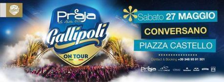Praja Gallipoli on Tour 2017 a Conversano