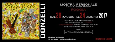 DONZELLI - mostra personale