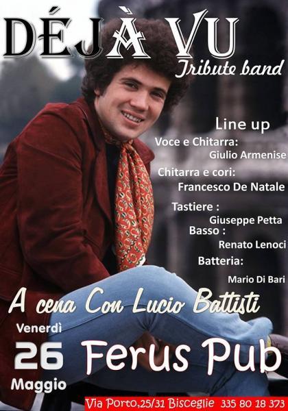 """Lucio Battisti special live con i """" DEJA' VU """""""