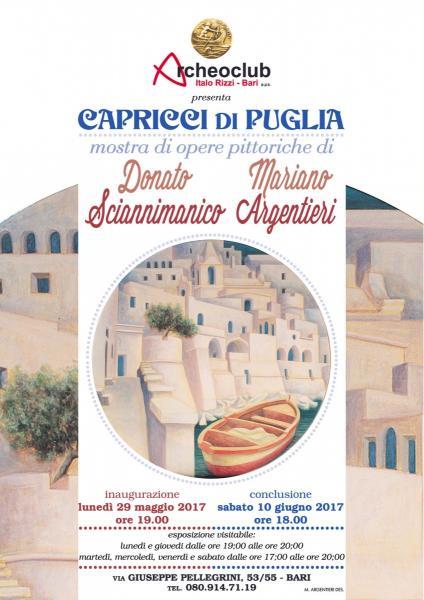 -CAPRICCI DI PUGLIA- Mostra d'arte di Sciannimanico e Argentieri