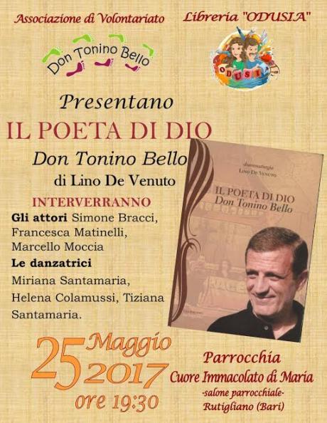 Presentazione del libro: Don Tonino Bello - Il Poeta di Dio