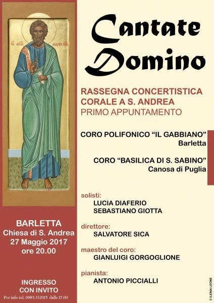 Cantate Domino - Concerto di Musica Corale - 1°appuntamento