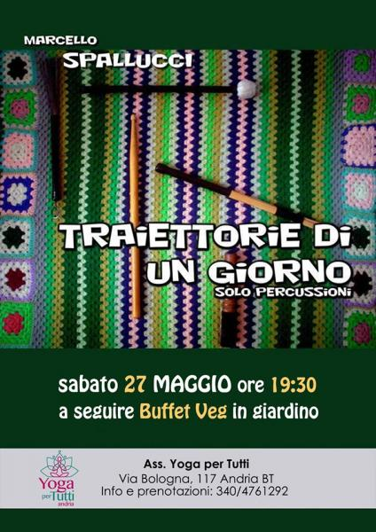 Traiettorie di un giorno: solo concert for drums and percussion