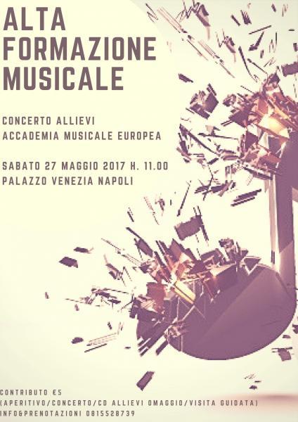 Alta formazione musicale - Concerto allievi accademia musicale europea