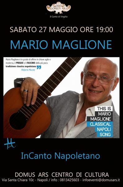 Mario Maglione in Canto Napoletano