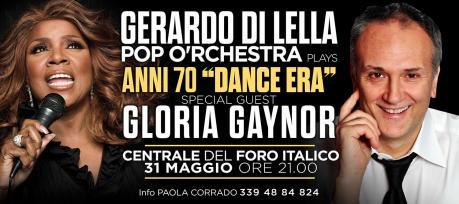 Gloria Gaynor al concerto di Gerardo Di Lella Pop O'rchestra