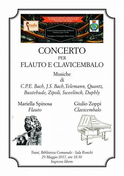 Concerto per Flauto e Clavicembalo