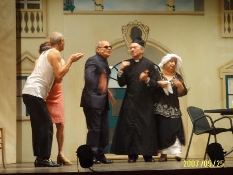 Commedia musicale in vernacolo Pompeu e Cuncetta di Liliana D'Arpe