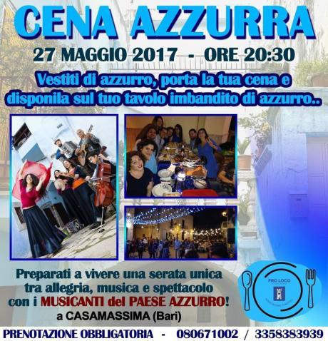 Cena Azzurra - folk e sapori