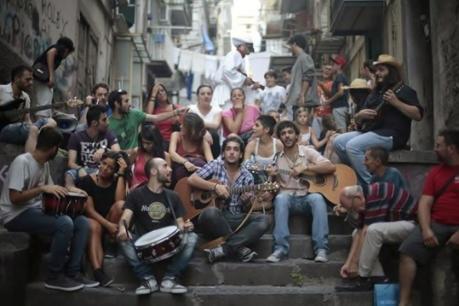 La Maschera live all'Università degli Studi di Salerno
