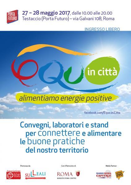 Equo in Città - Alimentiamo Energie Positive