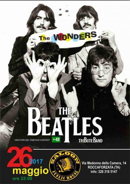 The Wonders Beatles Tribute live@Saloon Public House
