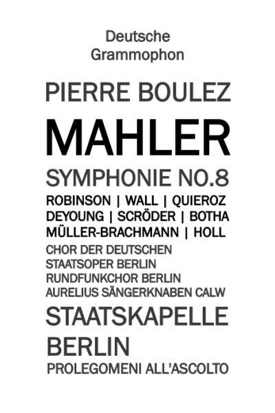 Sinfonia n.8 di Gustav Mahler. Introduce Alberto Corrado Pezzuto