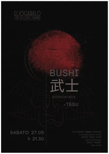 BUSHI [Bologna Violenta] + TEGU live