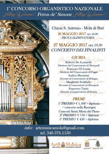 1° Concorso Organistico Nazionale - Concerto dei finalisti