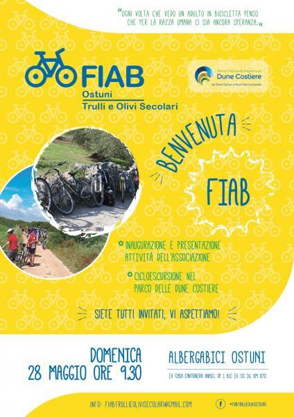 Benvenuta FIAB - cicloescursione nel Parco delle Dune Costiere