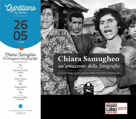 Chiara Samugheo un'amazzone della fotografia - Les Flaneurs edizioni