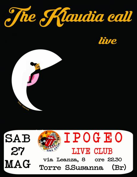 The Klaudia call live - Ipogeo live club