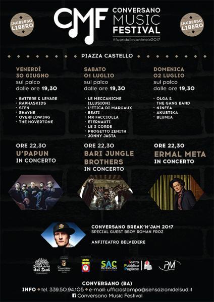 Conversano Music Festival 2017