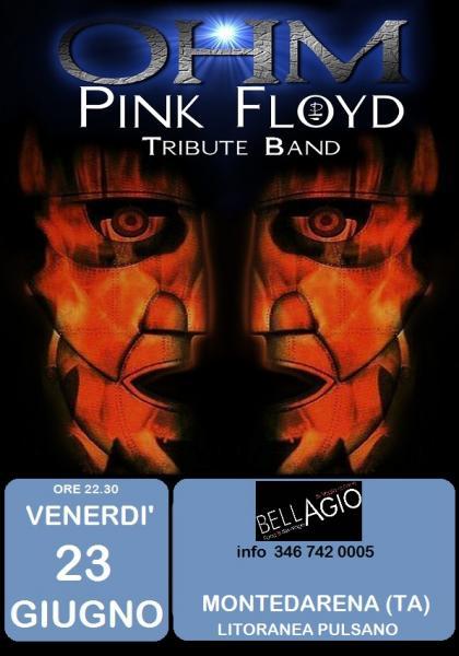 Ohm Pink Floyd . live Show - Montedarena - Bellagio