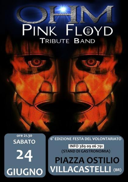 Ohm Pink Floyd live - Villacastelli - Piazza Ostilio
