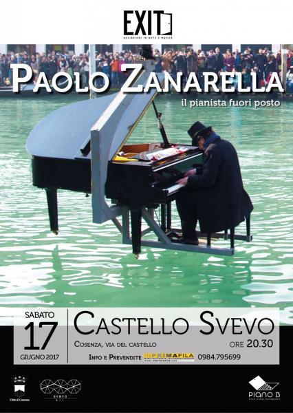 Paolo Zanarella in Concerto per Exit. Devizioni in Arte e Musica