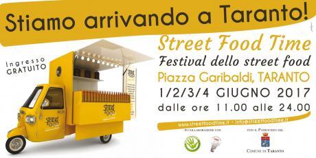 Street Food Time: dall'1 al 4 giugno Taranto ospiterà l'evento del cibo di strada di qualità