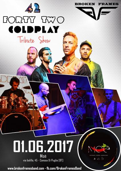 42 Coldplay Tribute Show by Broken Frames