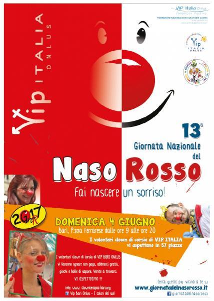 """""""13^ Giornata Nazionale del Naso Rosso - VIP Bari"""""""