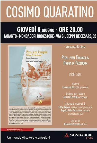 Incontro con l'autore Cosimo Quaratino