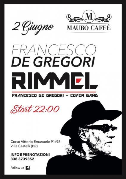Francesco De Gregori Rimmel