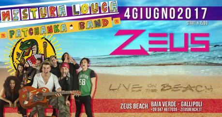 Mistura Louca live on the beach
